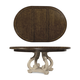 A.R.T Firenze II Round Dining Table in Rich Canella and White 259225-2317