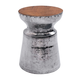 Zuo Modern Mahal Stool in Aluminum 100164