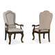 A.R.T Firenze II Upholstered Back Arm Chair in Rich Canella (Set of 2) 259205-2304