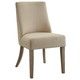 Coaster Donny Osmond Home Florence Upholstered Dining Chair in Beige (Set of 2) 180251