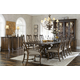 A.R.T Firenze II 7pc Trestle Dining Set in Rich Canella