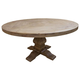 Coaster Donny Osmond Home Florence Round Pedestal Dining Table in Natural 180200