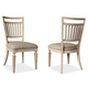 A.R.T The Foundry Cafe Bennett Side Chair in Weathered Cream (Set of 2) 802204-2317
