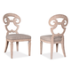 A.R.T The Foundry II Cafe Selway Side Chair in Weathered Cream (Set of 2) 802208-2317