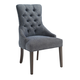 Coaster Donny Osmond Home Caprice Accent Chair in Grey (Set of 2) 902912