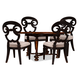 A.R.T The Foundry II 5pc Cafe Ness Dining Set in Dark Oak