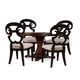 A.R.T The Foundry II 5pc Cafe Norton Dining Set in Cherry