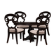 A.R.T The Foundry II 5pc Foley Dining Set in Black