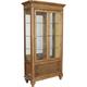 Broyhill Furniture Cascade Curio China in Arid Brown 4940-560