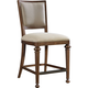 Broyhill Furniture Cascade Uph Seat/Back Counter Stools in Arid Brown 4940-591 (Set of 2)