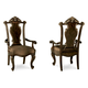 A.R.T Gables Wood Back Arm Chair in Cherry (Set of 2) 245205-1707