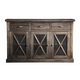 Alpine Furniture Newberry Sideboard in Salvaged Grey 1468-26