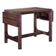 Broyhill Furniture Bedford Avenue Clifton Place Drop Leaf Wine Table 8615-504