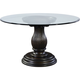 Broyhill Furniture Jessa Round Dining Table With Adjustable Base in Acacia 4980-531