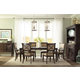 Broyhill Furniture Jessa 7-Piece Rectangle Leg Dining Table Set in Acacia