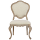 Bernhardt Campania Upholstered Side Chair in Weathered Sand (Set of 2) 370-541