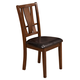 Alpine Del Rey Side Chairs in Dark Espresso (Set of 2) 1426-C