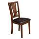 Alpine Del Rey Side Chairs in Dark Espresso (Set of 2) 1426-C