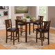 Alpine Del Rey 5pc Pub Set in Dark Espresso 1436
