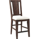 Broyhill Attic Heirlooms Splat Back Counter Stool in Rustic Oak 5399-572 (Set of 2)