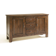 Broyhill Attic Heirlooms China Base in Rustic Oak 5399-65V