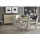 Bernhardt Savoy Place 5pc Round Dining Set in Chanterelle