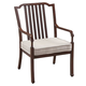Paula Deen River House Outdoor Dining Arm Chair in Oak (Set of 2) 17003704