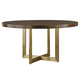 Universal Furniture Modern Gibson Round Dining/Game Table in Mahogany 644757