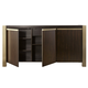 Universal Furniture Modern Gibson Credenza in Mahogany 644779
