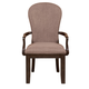 Samuel Lawrence Fulton St. Upholstered Back Arm Chair in Oak (Set of 2) S086-151