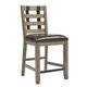 Samuel Lawrence Flatbush Metal Strap Gathering Chair in Light Oak (Set of 2) S084-176