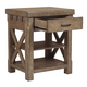 Samuel Lawrence Flatbush Kitchen Island in Light Oak S084-137