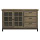 Samuel Lawrence Flatbush Console/Server in Light Oak S084-108