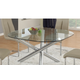 Chintaly Imports Leatrice-dt w/jacqueline Dining Table Leatrice-dt