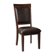 Shadyn Upholstered Side Chair in Brown (Set of 2) D471-01