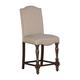 Baxenburg Upholstered Barstool in Brown (Set of 2) D506-124