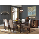 Baxenburg 8pc Rectangular Dining Set in Brown