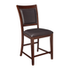 Collenburg Upholstered Barstool in Brown (Set of 2) D564-124