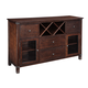 Collenburg Server in Brown D564-60