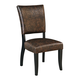 Sommerford Upholstered Side Chair in Brown (Set of 2) D775-02