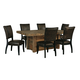 Sommerford 7pc Rectangular Dining Set in Brown