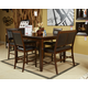 Meredy 5pc Counter Dining Set in Brown D395-323