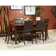 Meredy 6pc Dining Set in Brown D395-325