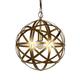Jedidiah Metal Pendant Light in Gold L000538