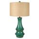 Jenci Ceramic Table Lamp in Antique Teal L100584