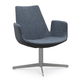Soho Concept Eiffel Arm Lounge Swivel 4 Star Chair