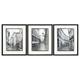 Dorcas 3pc Wall Art Set in Black/White A8000194