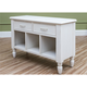 Klaussner Sea Breeze Sofa Table in White 424-827