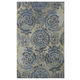 Alazne Large Rug in Blue/Ivory R400771