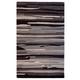 Burntville Large Rug in Black/Gray/Ivory R400881